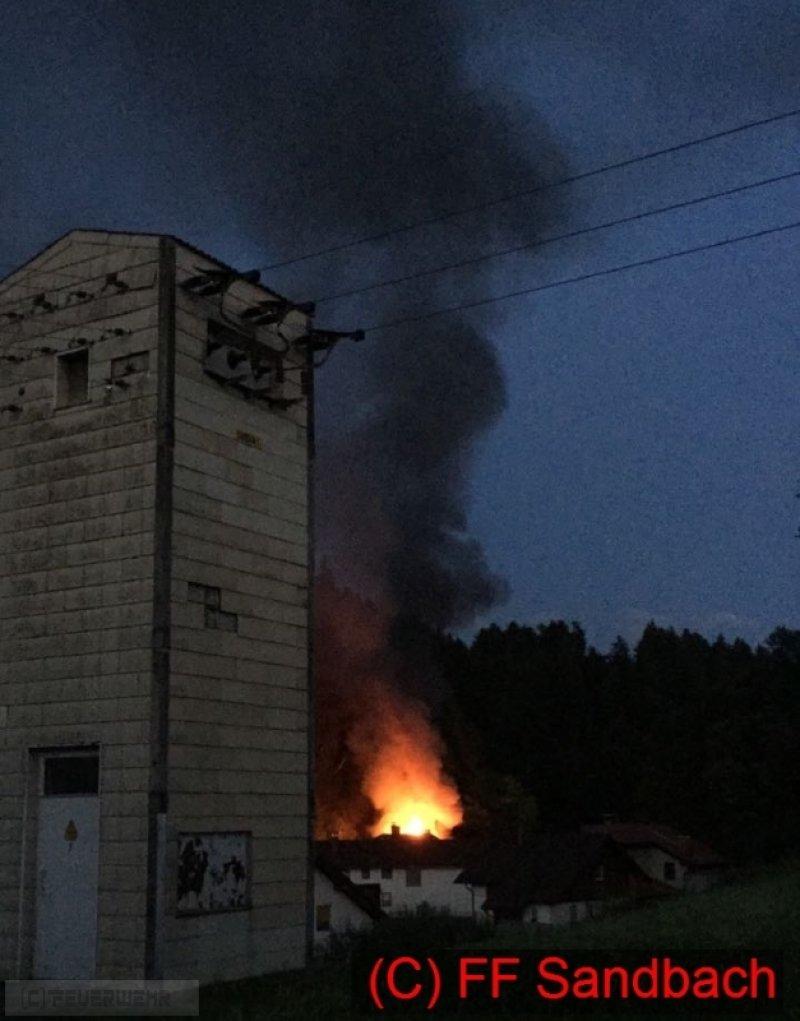 Brandeinsatz vom 03.07.2017  |  (C) Feuerwehr Sandbach / Bachhuber (2017)