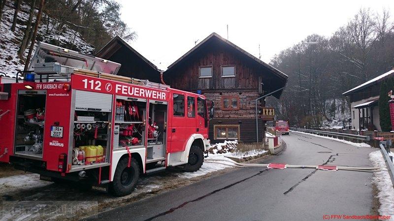 Technische Hilfeleistung vom 03.01.2015  |  (C) Feuerwehr Sandbach / Bachhuber (2015)