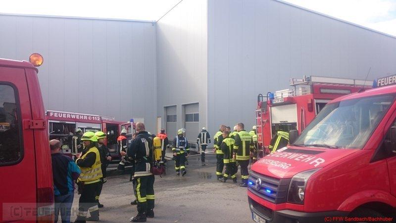 Brandeinsatz vom 20.09.2015     (C) Feuerwehr Sandbach / Bachhuber (2015)